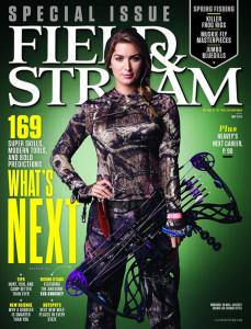 Eva Shockey Field & Stream Cover